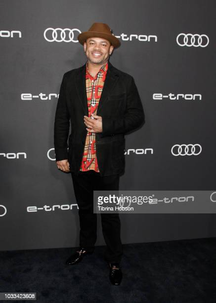Anthony Hemingway attends the Audi preEmmy celebration at Kimpton La Peer Hotel on September 14 2018 in West Hollywood California