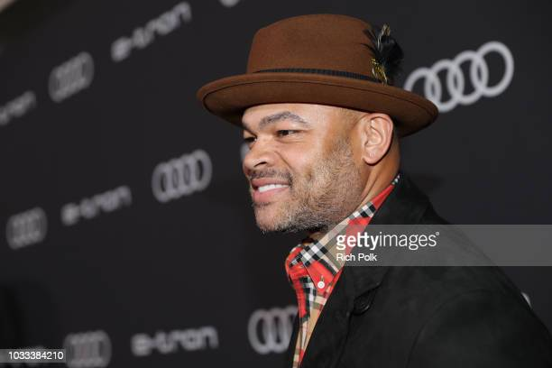 Anthony Hemingway attends the Audi preEmmy celebration at the La Peer Hotel in West Hollywood on Friday September 14 2018