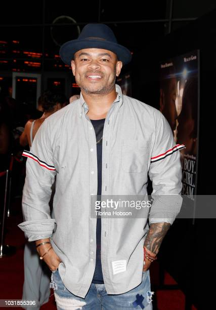 Anthony Hemingway attends the Premiere Of A Boy A Girl A Dream' at ArcLight Hollywood on September 11 2018 in Hollywood California