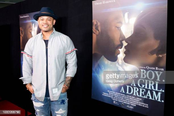 Anthony Hemingway attends the Premiere Of Samuel Goldwyn Films' 'A Boy A Girl A Dream' at ArcLight Hollywood on September 11 2018 in Hollywood...