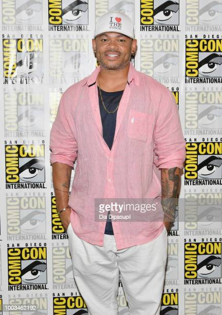 Anthony Hemingway attends the 'The Purge' Press Line during ComicCon International 2018 at Hilton Bayfront on July 21 2018 in San Diego California