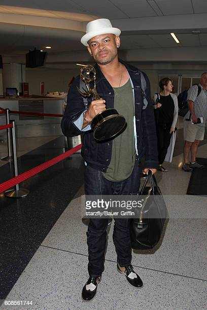 Anthony Hemingway is seen at LAX on September 19 2016 in Los Angeles California
