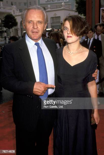 Anthony Hopkins and Abigail Hopkins