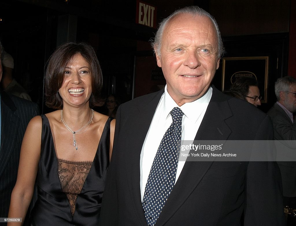 Anthony Hopkins and his girlfriend, antiques dealer Stella ...
