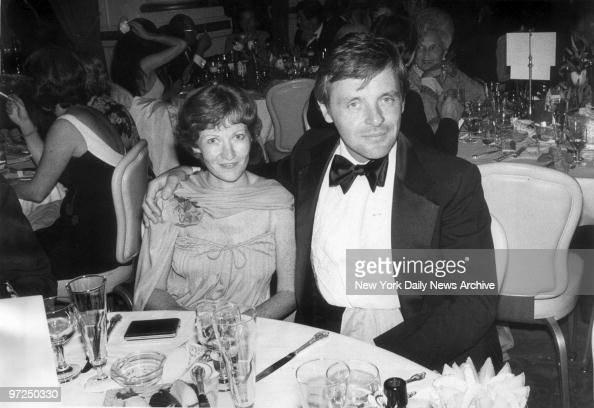 Anthony Hopkins and his wife, Jenni, at a party for the ...