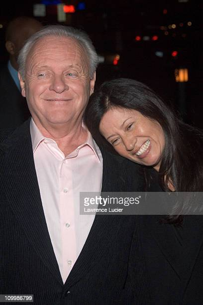 Anthony Hopkins and Stella Arroyave during The World's Fastest Indian New York City Screening January 24 2006 at Tribeca Grand Hotel in New York City...