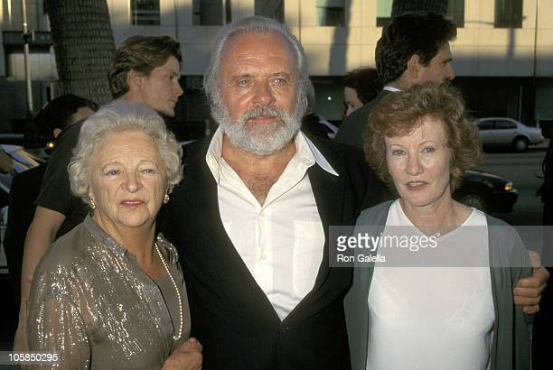 Anthony Hopkins and Wife Jennifer Lynton and Mother Muriel Hopkins