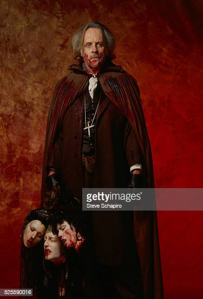 Anthony Hopkins as Professor Abraham Van Helsing in Francis Ford Coppola's Dracula