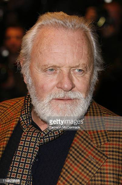 Anthony Hopkins attends 'The Bank Job' World Premiere at the Odeon West End on February 18 2008 in London England