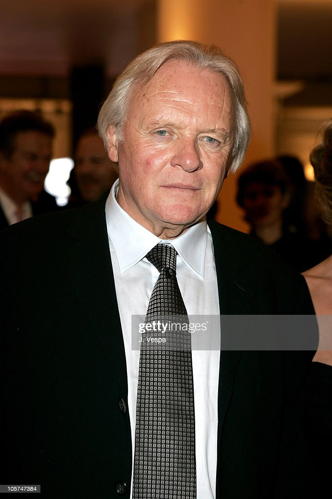 Anthony Hopkins during 2005 Venice Film Festival - 'Proof' Premiere - Inside at Palazzo del Cinema in Venice Lido, Italy.