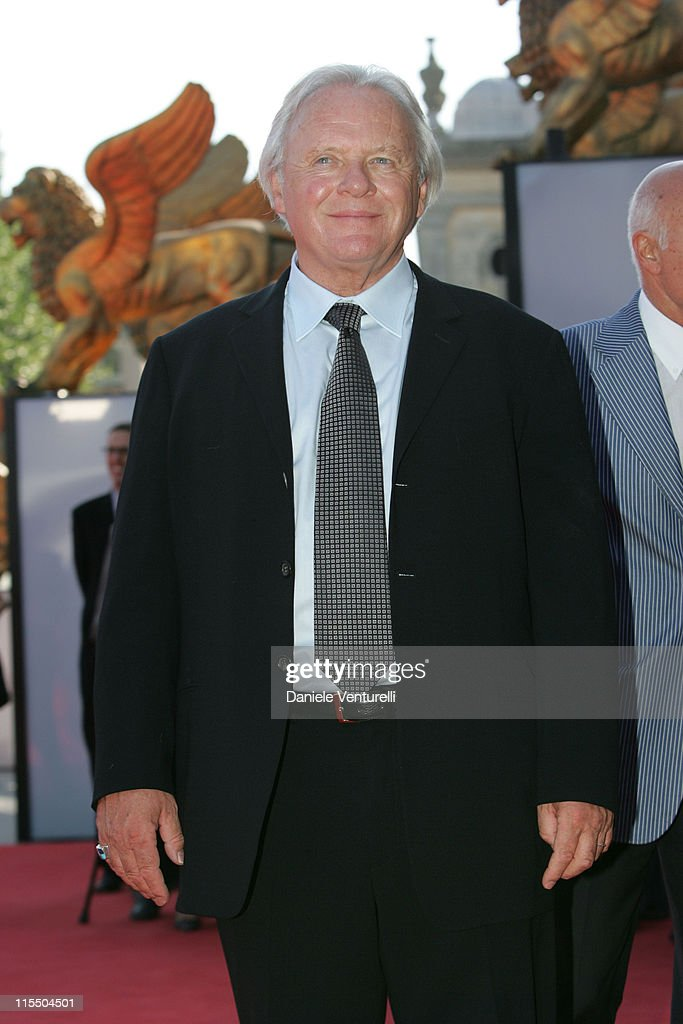 Anthony Hopkins during 2005 Venice Film Festival - 'Proof' Premiere at Venice Lido in Venice, Italy.