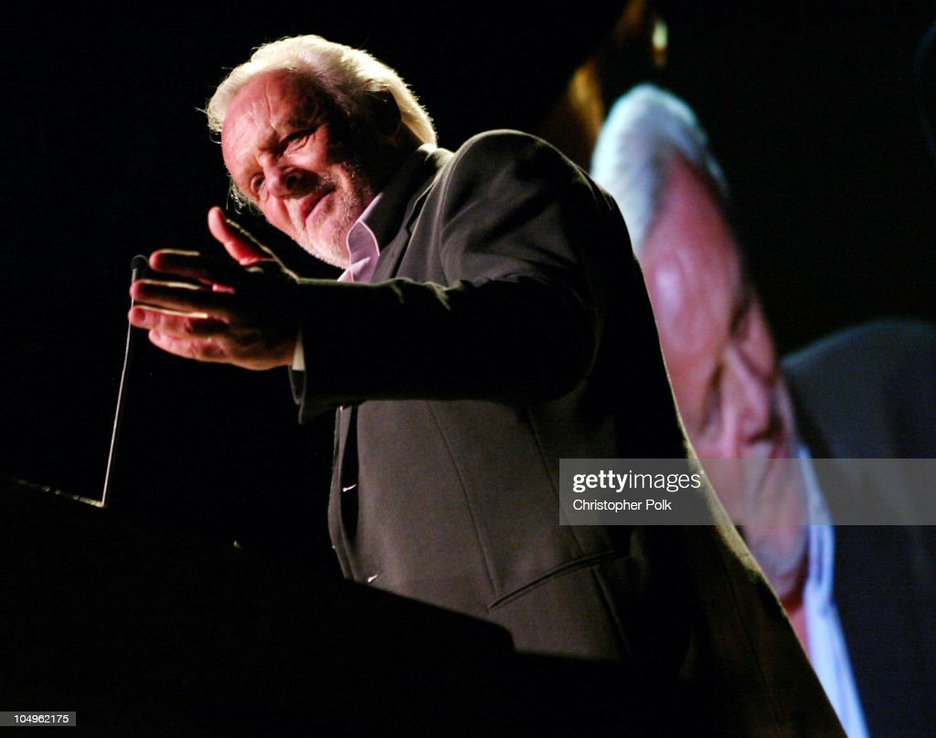 Anthony Hopkins during Hollywood Awards Gala Ceremony - Show and Backstage at The Beverly Hilton Hotel in Beverly Hills, California, United States.