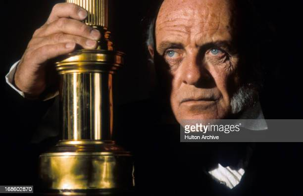 Anthony Hopkins in scene from the film 'Amistad' 1997