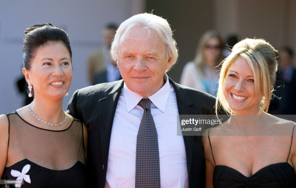 Anthony Hopkins, Wife Stella Arroyave & Daughter Abigail ...