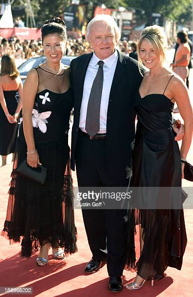 Anthony Hopkins Wife Stella Arroyave Daughter Abigail Promote 'Proof' At The 62Nd Venice Film Festival