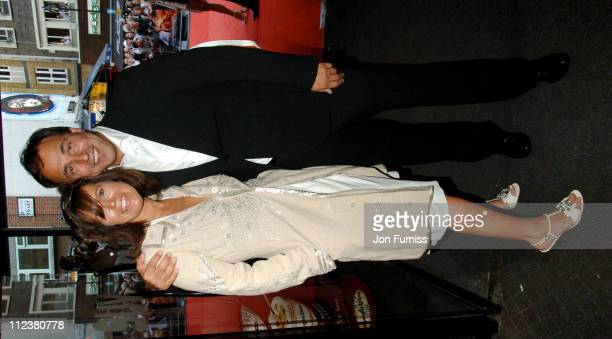 Anthony Horowitz and wife during 'Stormbreaker' London Premiere Inside Arrivals at Vue West End in London Great Britain