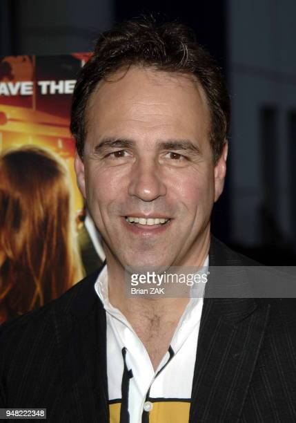 Anthony Horowitz arrives to the New York Premiere of Alex Rider Operation Stormbreaker held at The Intrepid Sea Air Space Museum New York City BRIAN...