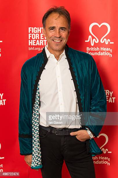 Anthony Horowitz attends the British Heart Foundation's Tunnel of Love fundraiser at Victoria Albert Museum on November 11 2015 in London England