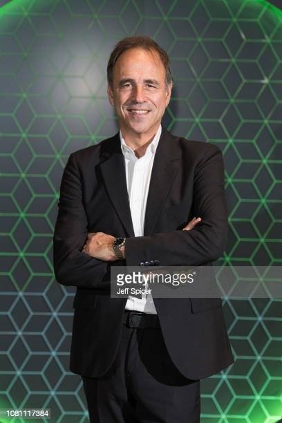 Anthony Horowitz attends the Vanity Fair x Bloomberg climate change gala dinner at Bloomberg London on December 11 2018 in London England