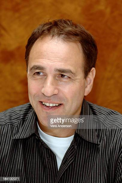 Anthony Horowitz during 'Alex Rider Operation Stormbreaker' Press Conference with Alicia Silverstone Alex Pettyfer Missi Pyle Geoffrey Sax and...