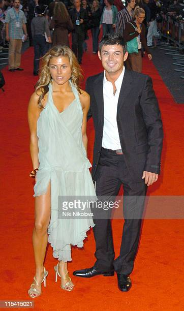 Anthony Hutton and Zoe Hardman during 'The Dukes of Hazzard' London Premiere Arrivals at Vue Leicester Square in London Great Britain