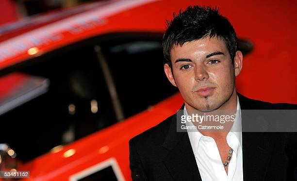 Anthony Hutton arrives for the UK Premiere of new film 'The Dukes Of Hazzard' at Vue Leicester Square August 22 2005 in London England