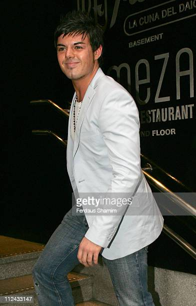 Anthony Hutton during Cosmopolitan Naked Male Centrefold Launch Party May 9 2006 at Floridita in London Great Britain