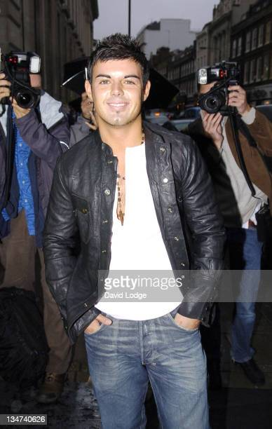 Anthony Hutton during MOBO Awards 2005 Press Launch at Sway in London Great Britain