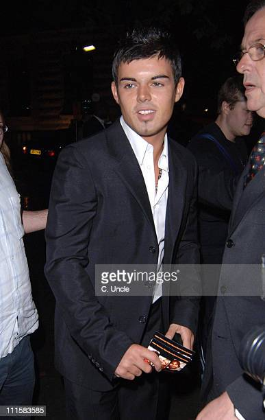 Anthony Hutton during 'The Dukes of Hazzard' London Premiere After Party at Texas Embassy Cantina in London United Kingdom