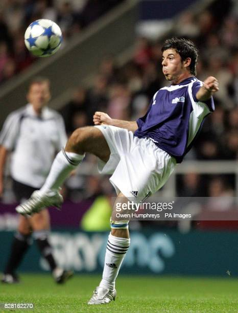 Anthony Hutton in action during The Match at St James Park Sunday October 10 2005 PRESS ASSOCIATION Photo Photo credit should read Owen Humphreys/PA