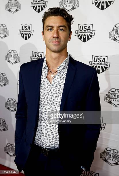 Anthony Irvin arrives to the 2016 Golden Goggles Awards at the Marriott Marquis Hotel on November 21 2016 in New York City