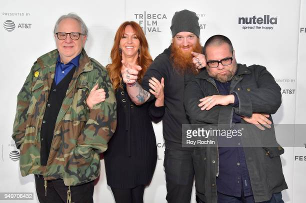 Anthony Jannelli Marina Donahue Lee Terwilliger and Robert Pietri attend the Shorts ProgramThe Velvet Underground Played at My High School during the...
