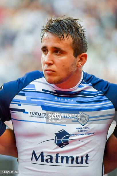 Anthony Jelonch of Castres during the French Final Top 14 match between Montpellier and Castres at Stade de France on June 2 2018 in Paris France
