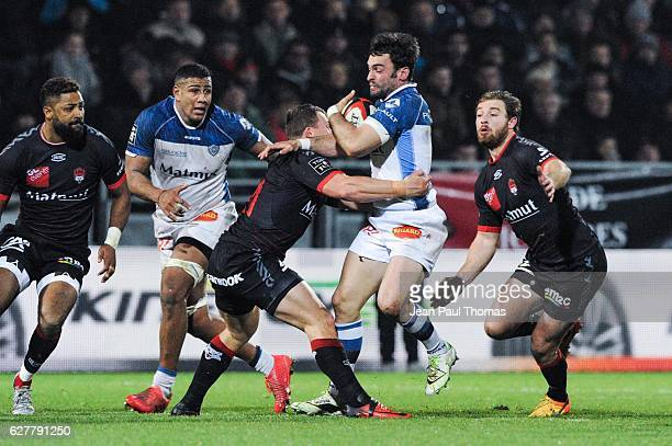 Anthony JELONCH of Castres during the Top 14 match between Lyon Lou and Castres at Matmut Stadium on December 3 2016 in Lyon France