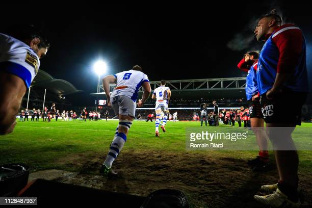 Anthony Jelonch of Castres during the Top 14 match between Lyon OU and Castres olympique on March 2 2019 in Lyon France