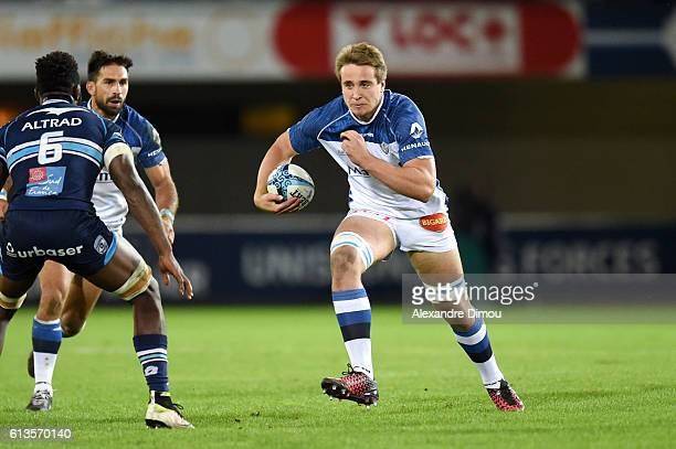 Anthony Jelonch of Castres during the Top 14 rugby match between Montpellier Rugby and Castres Olympique on October 8 2016 in Montpellier France