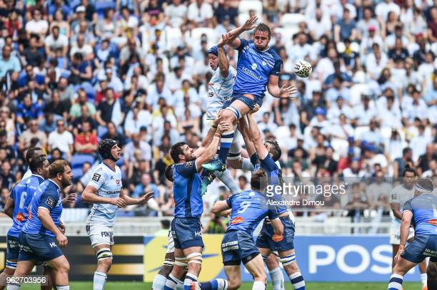 Anthony Jelonch of Castres during the Top 14 semi final match between Racing 92 and Castres on May 26 2018 in Lyon France