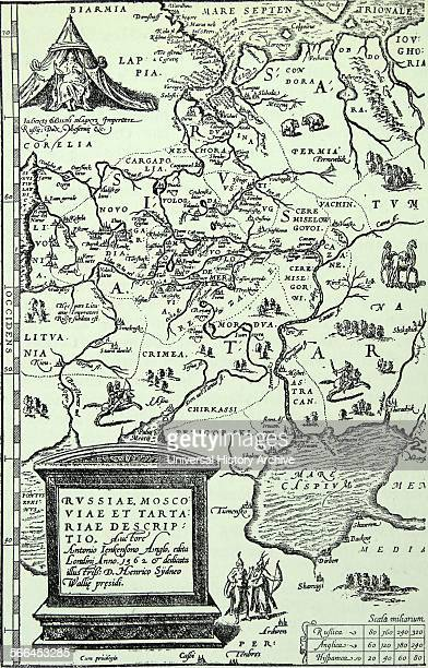 Anthony Jenkinson's map of Russia He was one of the first Britons to explore Muscovy and present day Russia Jenkinson was a traveller and explorer on...