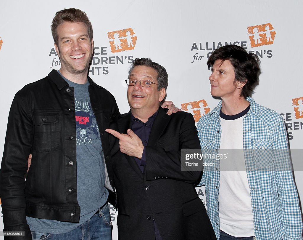 Anthony Jeselnik, Andy Kindler and Tig Notaro attend the 7th annual Right To Laugh Benefit at Avalon on October 6, 2016 in Hollywood, California.