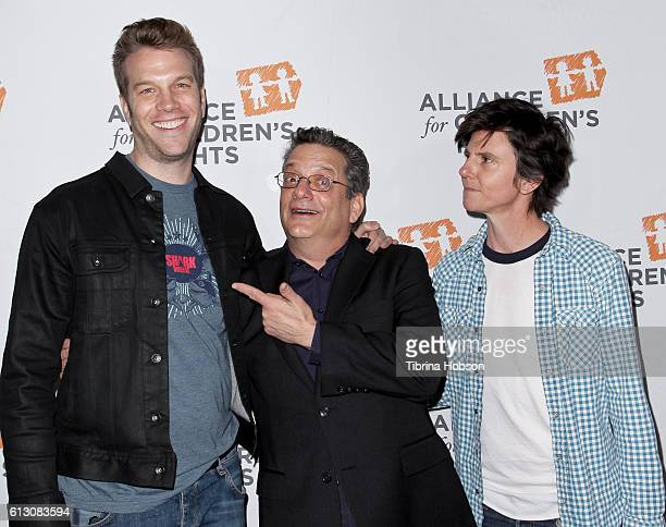 Anthony Jeselnik Andy Kindler and Tig Notaro attend the 7th annual Right To Laugh Benefit at Avalon on October 6 2016 in Hollywood California