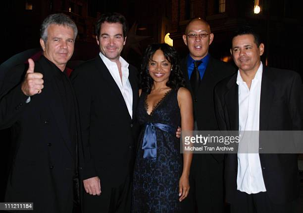 Anthony John Denison Jon Tenney Gina Ravera Michael Paul Chan and Raymond Cruz of The Closer