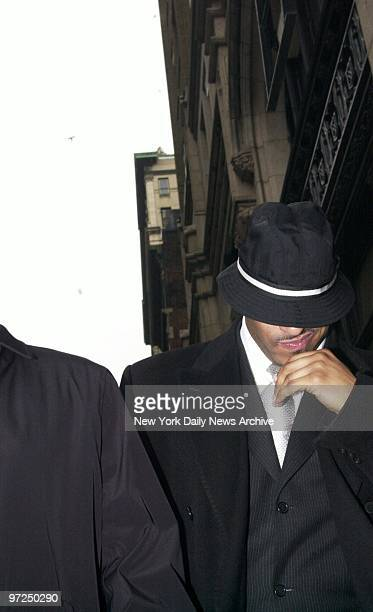 Anthony Jones Sean Combs' bodyguard leaves Manhattan Supreme Court during a break in trial Jones and his boss are charged with illegal gun possession...