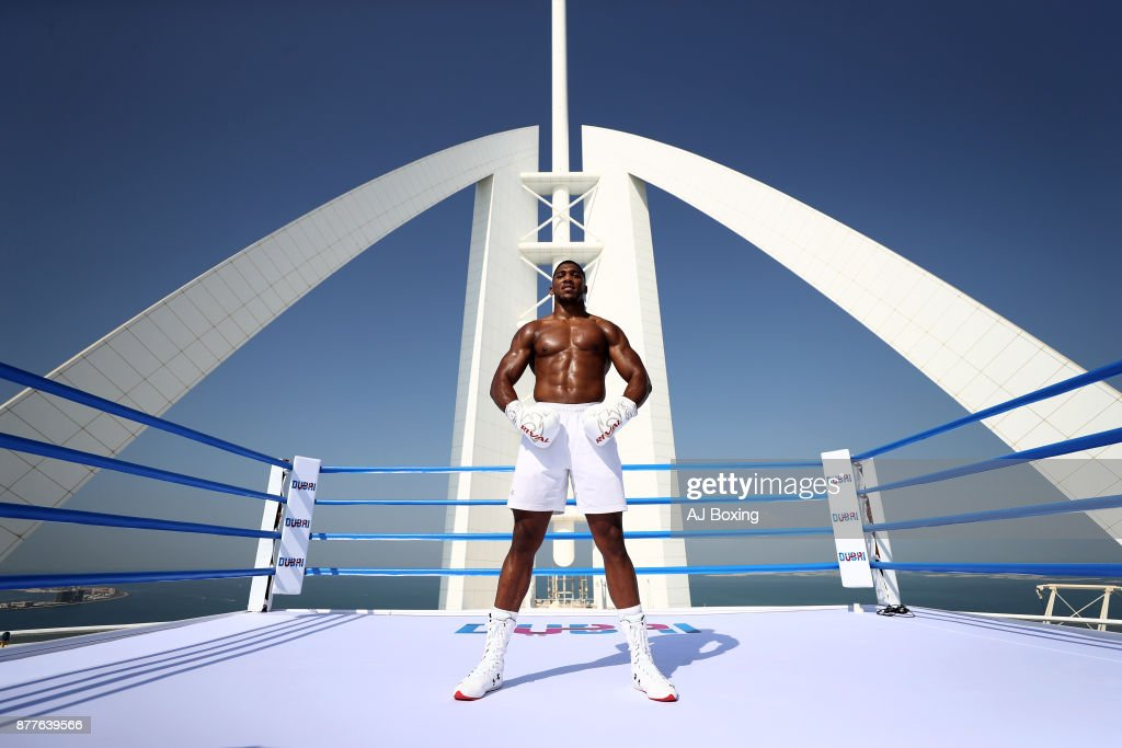 Anthony Joshua at Burj Al Arab