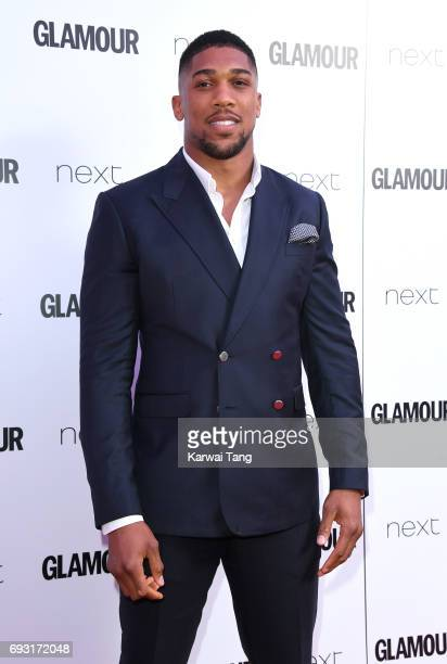 Anthony Joshua attends the Glamour Women of The Year Awards 2017 at Berkeley Square Gardens on June 6 2017 in London England