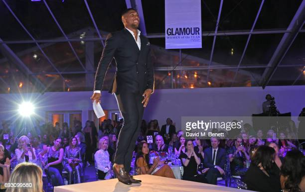 Anthony Joshua attends the Glamour Women of The Year Awards 2017 in Berkeley Square Gardens on June 6 2017 in London England