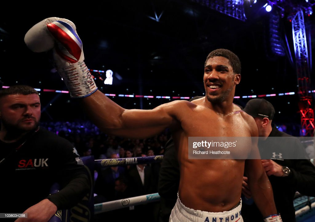Anthony Joshua v Alexander Povetkin - World Heavyweight Title Fight : News Photo