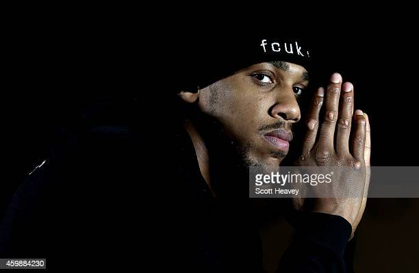 Anthony Joshua during a press conference on December 3 2014 in London England