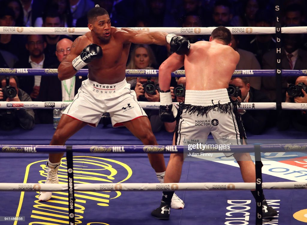 Anthony Joshua v Joseph Parker - World Heavyweight Title Fight