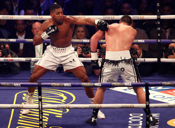 Anthony Joshua set to announce HUGE £100 million promotional deal with Matchroom Boxing
