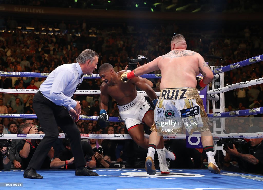 Anthony Joshua v Andy Ruiz Jr. : News Photo